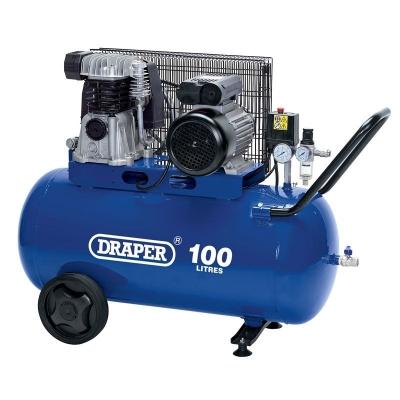 Compresor de aire 100 Litros Draper. 3 HP