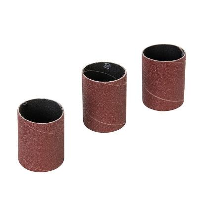3 Bandas de lija para lijadora de rodillo. Grano 80