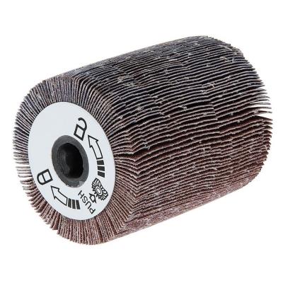 Rodillo de lija láminado para lijadora de rodillo. Grano 120