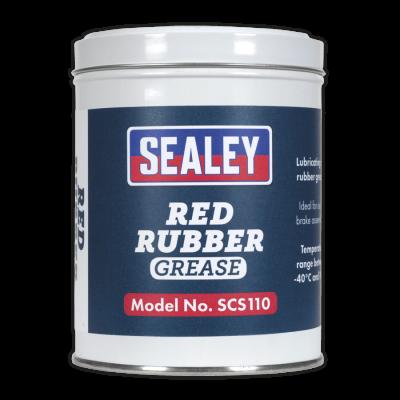 Grasa roja para goma (Red Rubber Grease). 500 g. SCS110