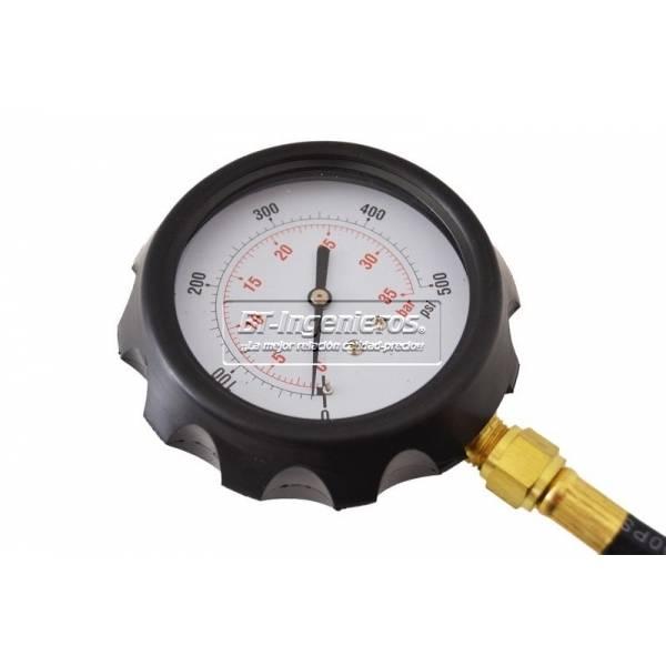 Manometro de presion de aceite bt ingenieros for Manometro para medir presion de agua