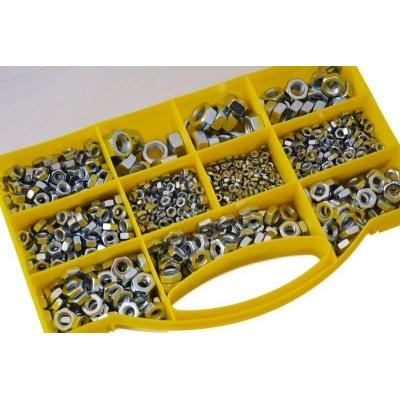 Juego de 1000 tuercas hexagonales