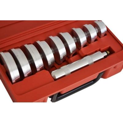 Kit instalador de rodamientos y retenes. 11PZ. 38-80 mm.