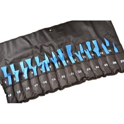 Juego de 27 palancas y rasquetas de nylon