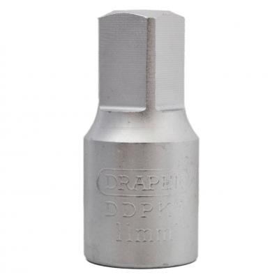 """Llave vaso 11 mm. cuadrada para carter 3/8"""""""