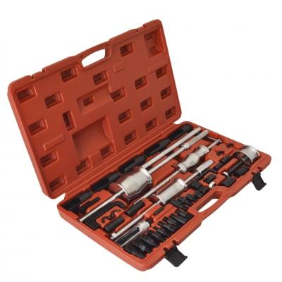 Extractor de inyectores grande. 45 piezas