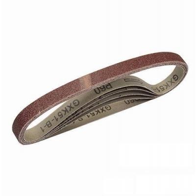 5 Bandas de lija 13x457 mm. Grano 80