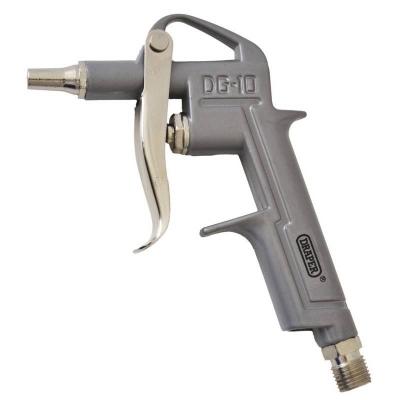 Pistola sopladora con boquilla corta