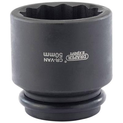 """Llave de vaso de impacto, 50 mm. 3/4"""" 12 caras"""