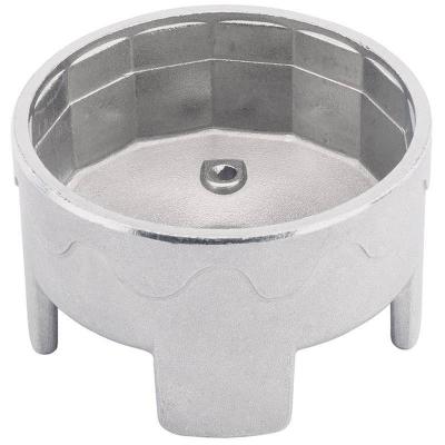 Cazoleta para filtros de aceite. 63-64 mm. 14 caras
