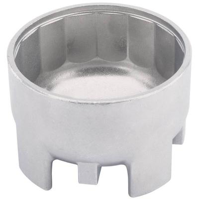 Cazoleta para filtros de aceite. 87 mm. 16 caras