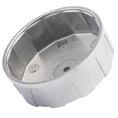 Cazoleta para filtros de aceite. 84 mm. 14 caras