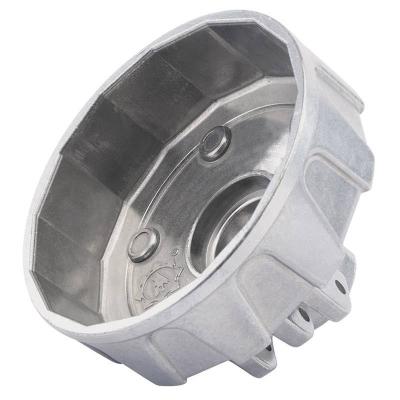 Cazoleta para filtros de aceite. 79 mm. 15 caras