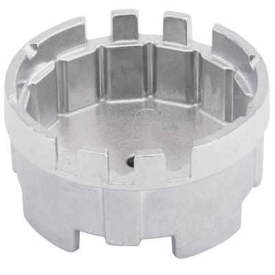Cazoleta para filtros de aceite. 64.5 mm. 16 caras y 6 ranuras