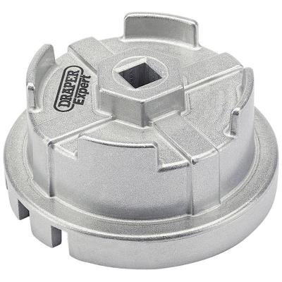 Cazoleta para filtros de aceite. 65 mm. 14 caras y 6 ranuras