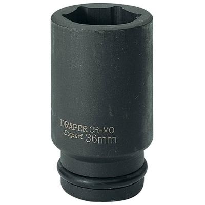 """Llave de vaso de impacto larga de 36 mm. 3/4"""" Hexagonal"""