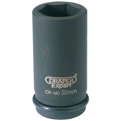 """Llave de vaso de impacto larga de 30 mm. 3/4"""" Hexagonal"""