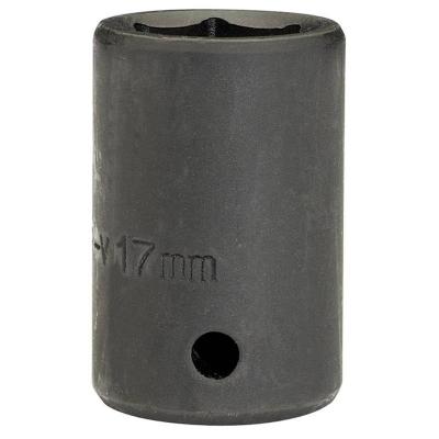 """Llave de vaso de impacto de 17 mm. 1/2"""". Hexagonal"""