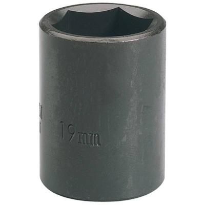 """Llave de vaso de impacto de 19 mm. 1/2"""". Hexagonal"""