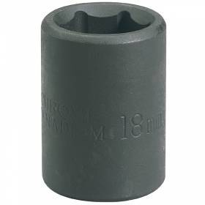"""Llave de vaso de impacto de 21 mm. 1/2"""". Hexagonal"""