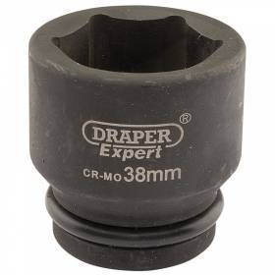 """Llave de vaso de impacto de 38 mm. 3/4"""". Hexagonal"""