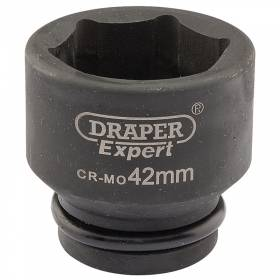 """Llave de vaso de impacto de 42 mm. 3/4"""". Hexagonal"""