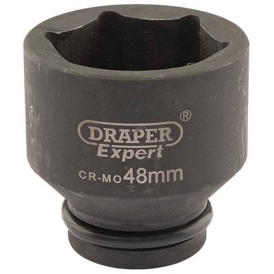 """Llave de vaso de impacto de 48 mm. 3/4"""". Hexagonal"""