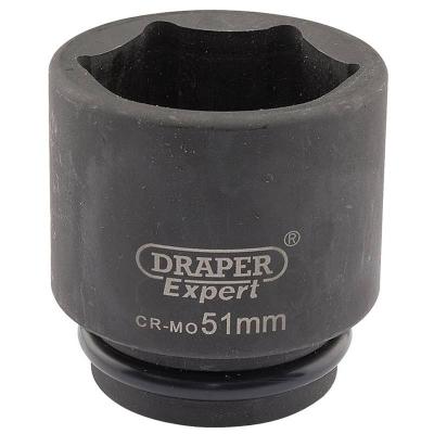 """Llave de vaso de impacto de 51 mm. 3/4"""". Hexagonal"""