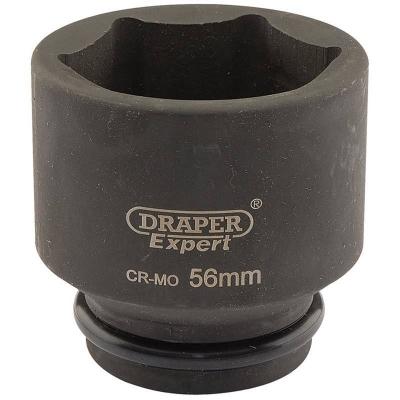 """Llave de vaso de impacto de 56 mm. 3/4"""". Hexagonal"""