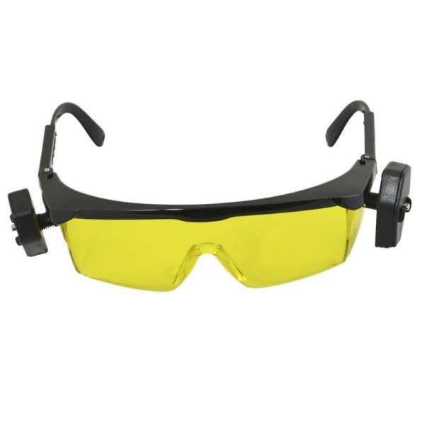 Gafas con luz LED UV para detectar fugas