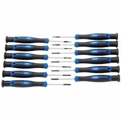 Destornilladores de precisión. 12 piezas