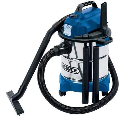 Aspirador industrial seco y humedo 20L 1250W.