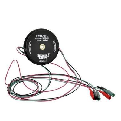 Cables de prueba de circuitos retráctiles. 3,6 metros