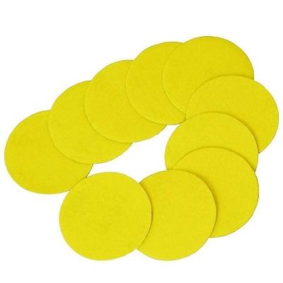 10 discos de lijado de 50 mm. con velcro. Grano 400