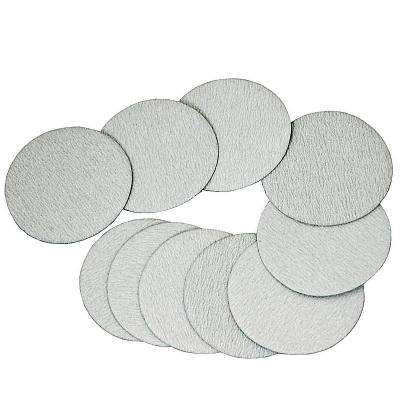 10 discos de lijado de 75 mm. con velcro. Grano 320