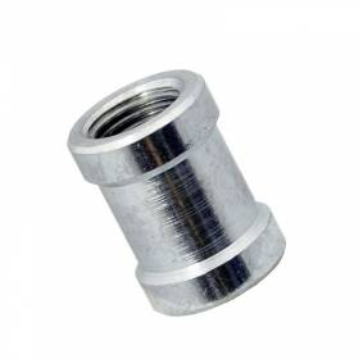 "Conector neumático paralelo doble rosca hembra 1/4"" BSP"