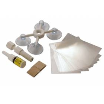 Kit para reparar parabrisas