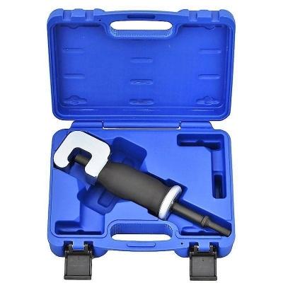 Adaptador para extraer tuercas y tornillos oxidados con martillo neumático