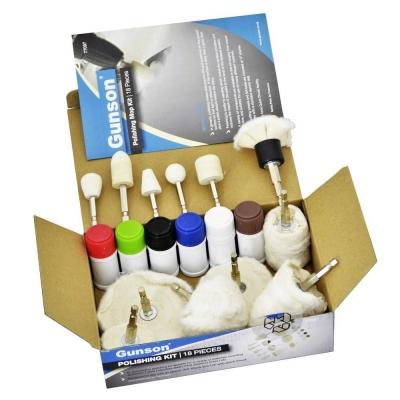 Kit de pulido y abrillantado de Metales & Plásticos. 18 Piezas