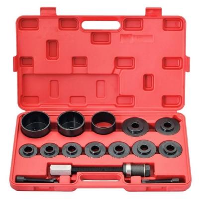 Kit extractor e instalador de rodamientos. 17 piezas
