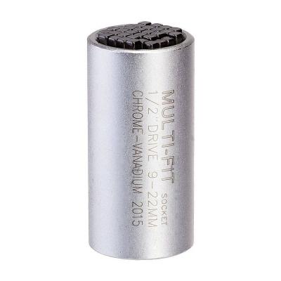 """Llave de vaso universal para tuercas y tornillos de 9 a 22 MM. 1/2"""""""