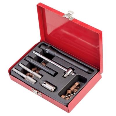 Kit de reparación de roscas de bujías. 25 piezas