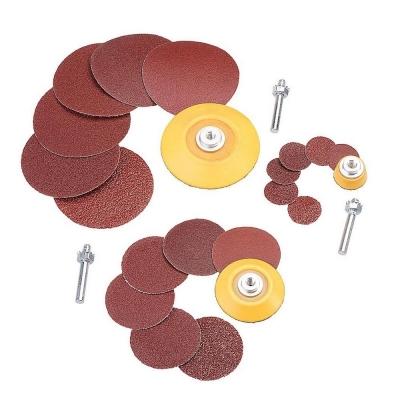 Platos y discos de lijado 25, 50 & 75 MM. 24 Piezas