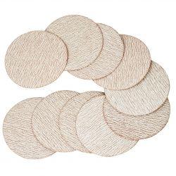 Discos con velcro de 50 y 75 mm.