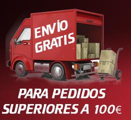 Promoción con envío gratuito para herramientas que superen los 100€