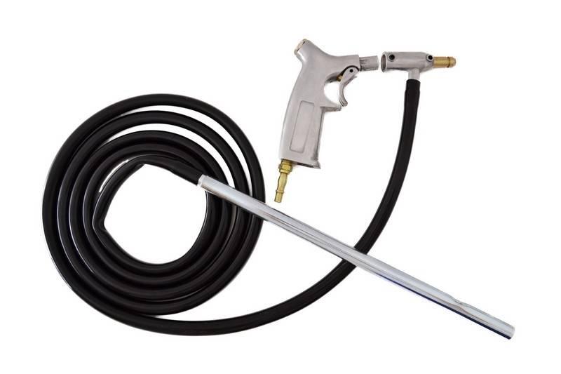 Pistola chorreadora de arena accesorios bt ingenieros for Bomba manual para pintar con cal