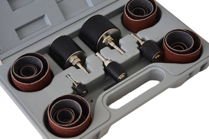 Juego de 25 bandas de lijado para taladro bt ingenieros - Accesorios para taladros electricos ...