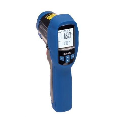 Termometro Infrarrojo Doble Laser Y Sensor Termopar 50ºc A 1050ºc Se ha agregado a tu carrito. termometro infrarrojo con doble laser y sensor termopar k 50ºc a 1050ºc